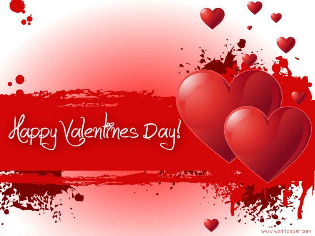Happy-Valentines-Day-Red-Greeting-Card